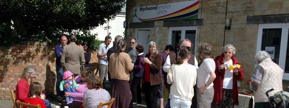 Opening of the Benefice Centre - May 2012