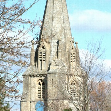 Shipton church tower