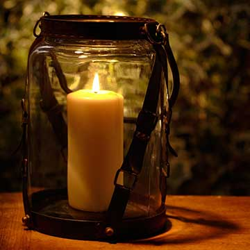 Image of a lantern, helping you in the darkess moments