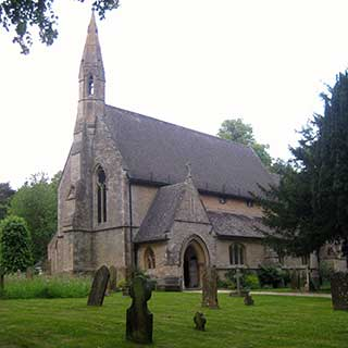 An image of St Simon and St Jude's, Milton under Wychwood