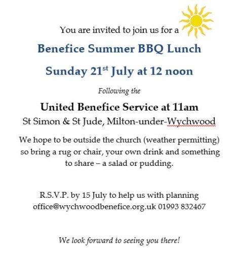 Benefice Summer Lunch
