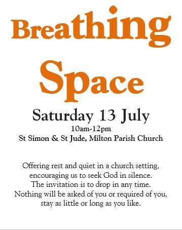 Breathing Space 13 Jul2019