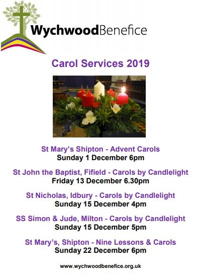Carols Services 2019