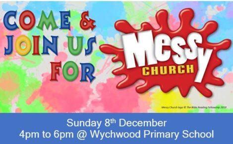 Messy Church 8 December