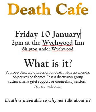 Death Cafe Jan 2020