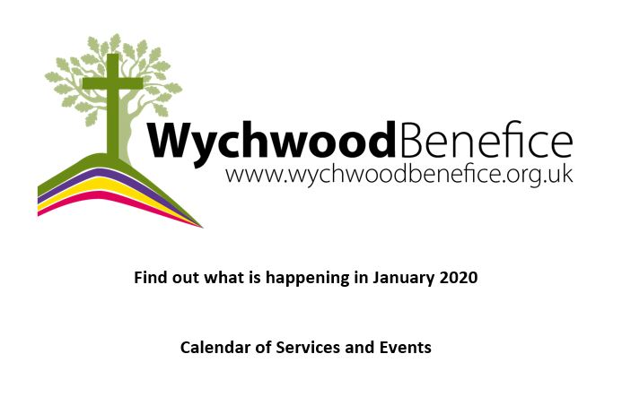 Jan Calendar of Events and Services