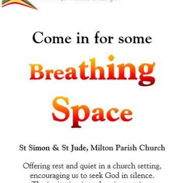Breathing Space 21 Jan 12-12.30
