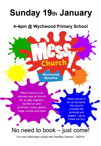 messy church jan 2020