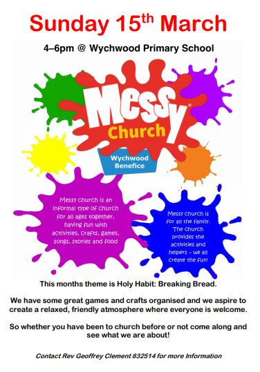 March Messy Church