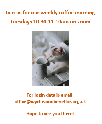 weekly coffee morning