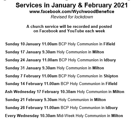 services Jan and Feb