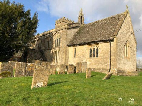 Sunday in Idbury Church